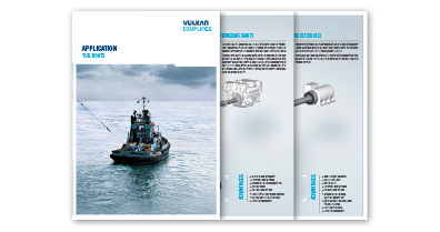 VULKAN Couplings APPLICATION TUG BOAT