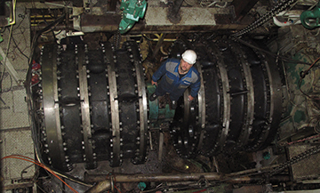 Installation of the coupling